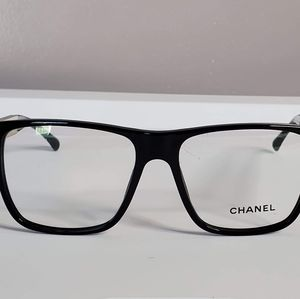 CHANEL 3276 622 Eyeglasses  Frames Black silver